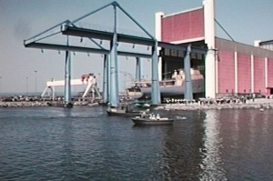 Minfartyg Carlscrona 1980