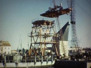 byggnad av Kran Nr 11 1951
