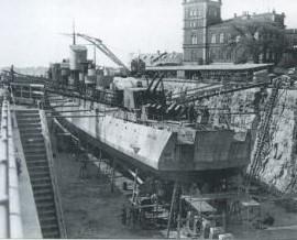 uppland i docka 1948