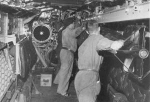 Laddning torpeder U3